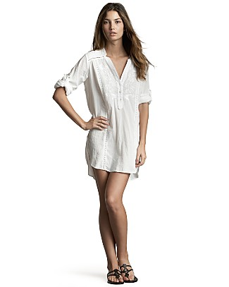 shirtdress coverup