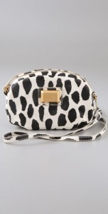 marc jacobs animal print cross body bag