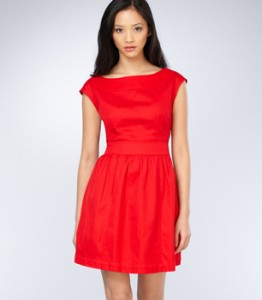 Fred Flare Red Dress