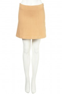 topshop camel skirt