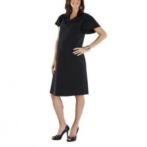 target cowl neck dress Ebony