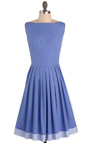 modcloth perriwinkle prance dress