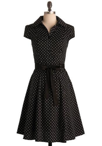 modcloth hepcat dress in black licorice