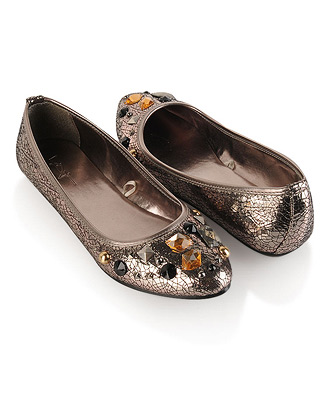 forever 21 jeweled flats
