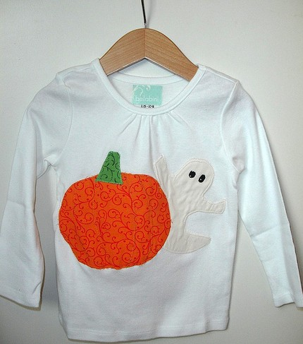 bellabini boutique custom pumpkin tee
