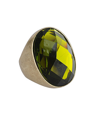 forever 21 faceted ring