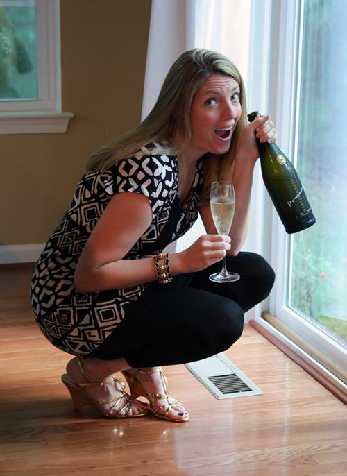 Champagne Saturday