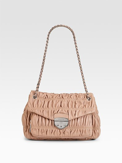 Prada Nappa Gaufre Shoulder Bag