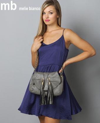 rachel grey chain strap purse by melie bianco