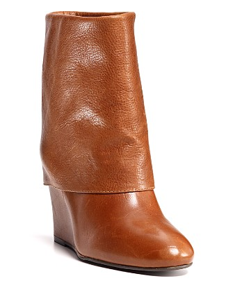 steven by steve madden masen wedge booties