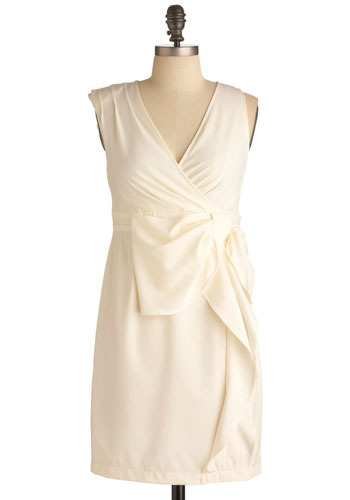 modcloth only have ivory for you dress