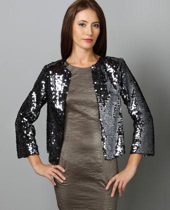 bb dakota owens sequin jacket