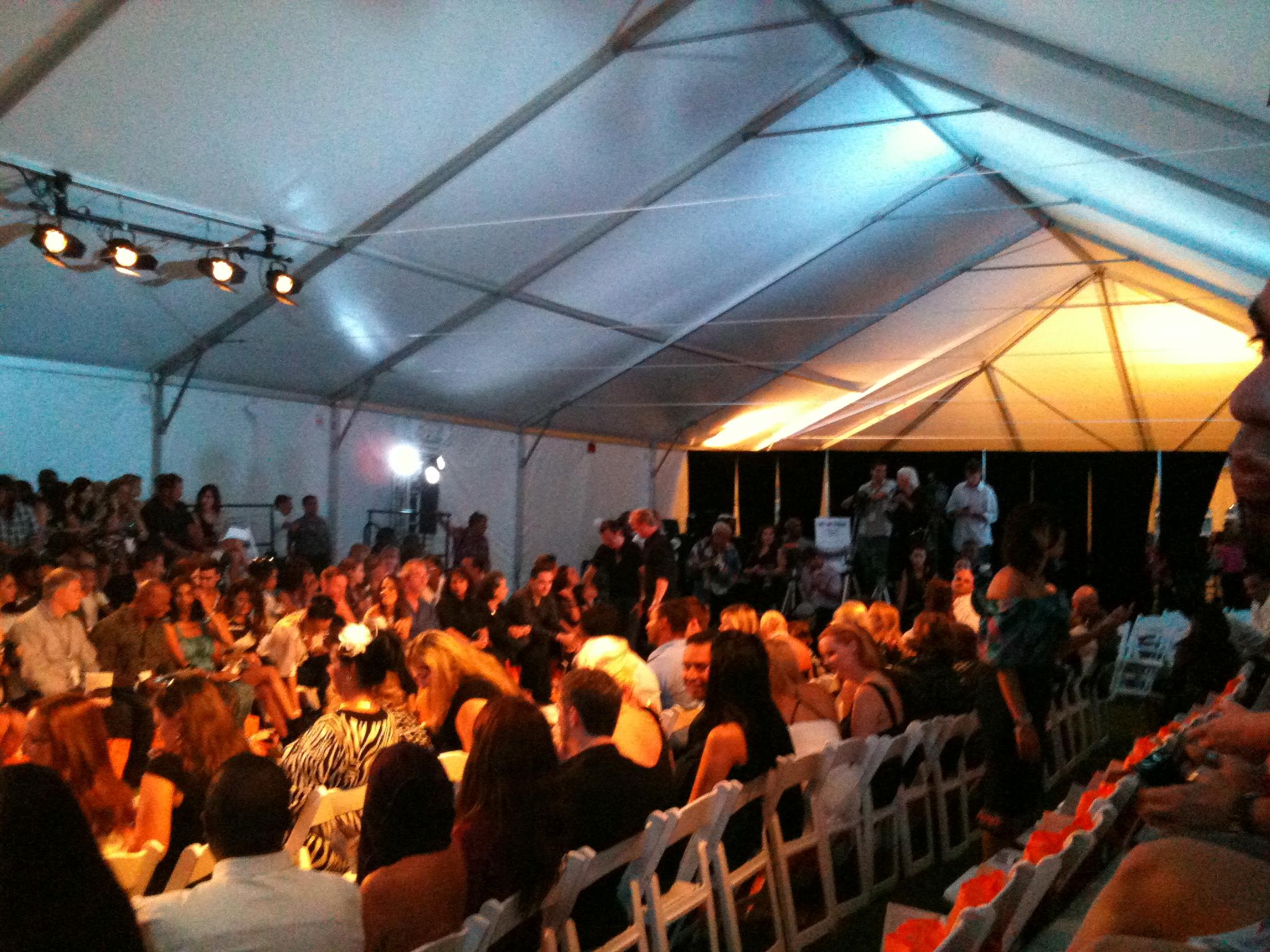 tampa bay fashion week tent