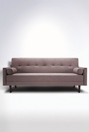I Heart the sleek look of the Night and Day Convertible Sofa