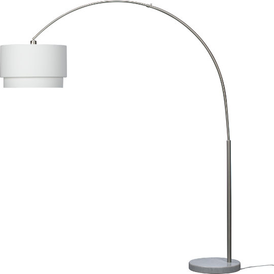 Crate and Barrel Meryl Floor Lamp