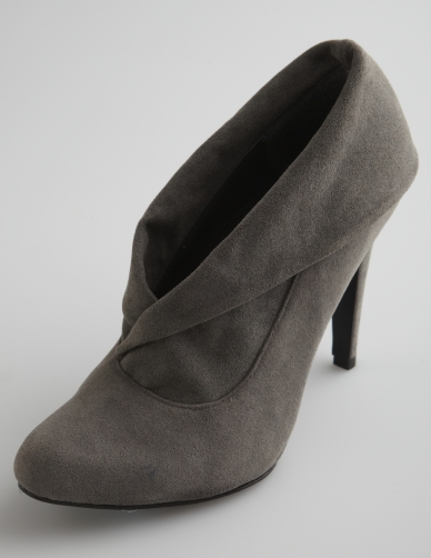 charlotte russe foldover collar bootie