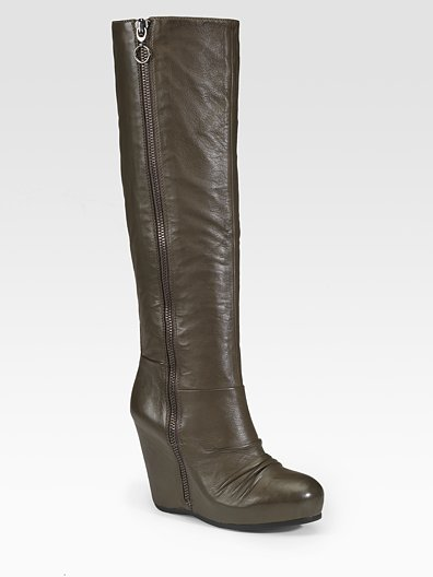 ash tall ruched boots