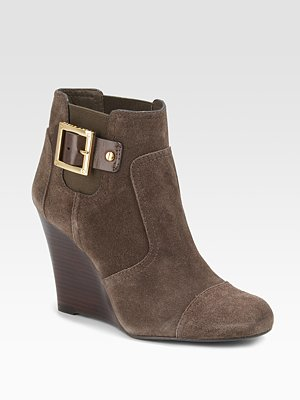 tory burch adrienne wedge suede ankle boots