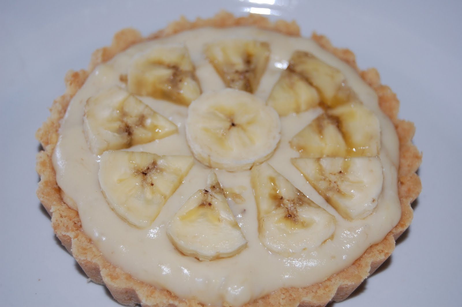 belleicious banana pudding tart