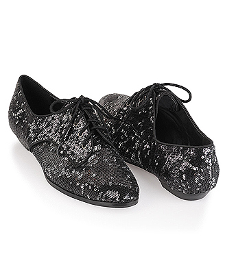 forever 21 hollywood sequin oxfords