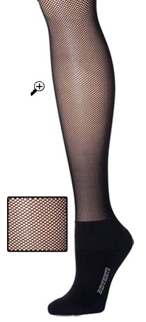 designer fishnet bootights
