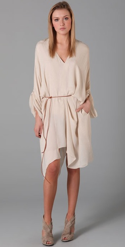acne dolphin draped dress