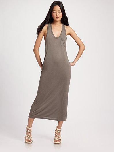 t by alexander wang maxi tank dress