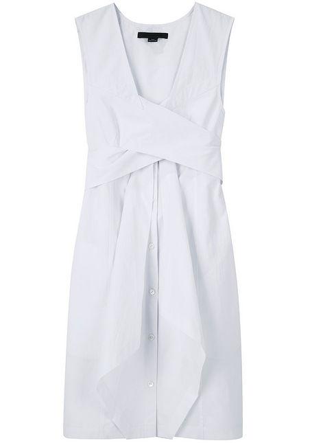 alexander wang crisp poplin dress