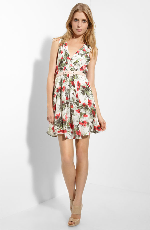 elizabeth and james floral dress