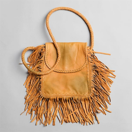 cut n paste fringe bag