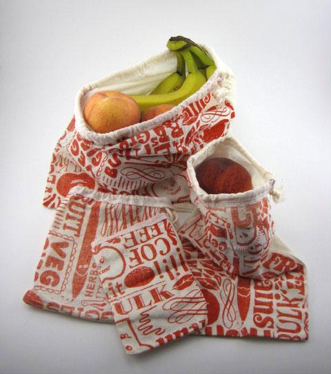 reusable veggie bags