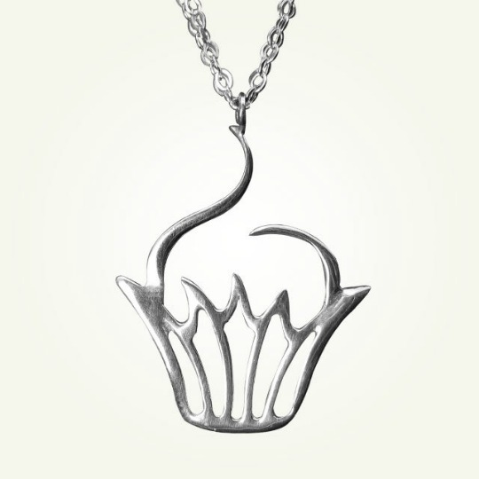 lucius jewelry cupcake necklace