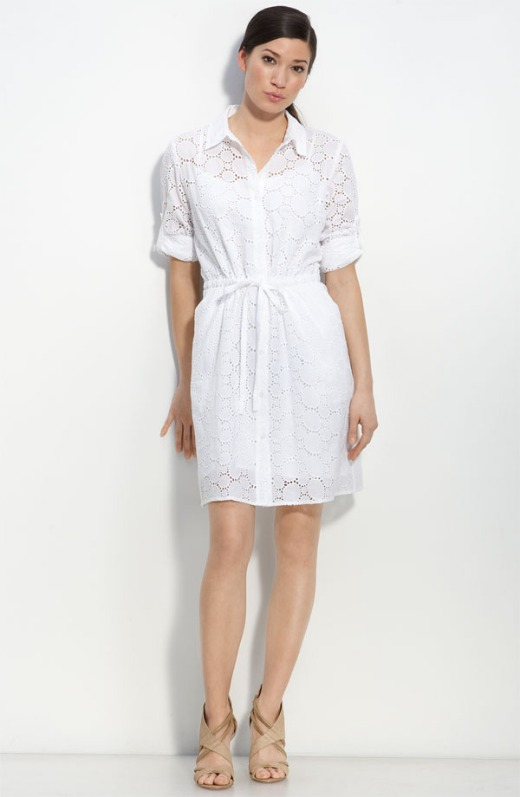 calvin klein shirtdress