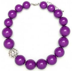 baublebar violet glam collar