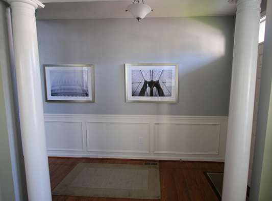 Hallway Molding DIY