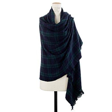 alexa chung for madewell hamish wrap scarf