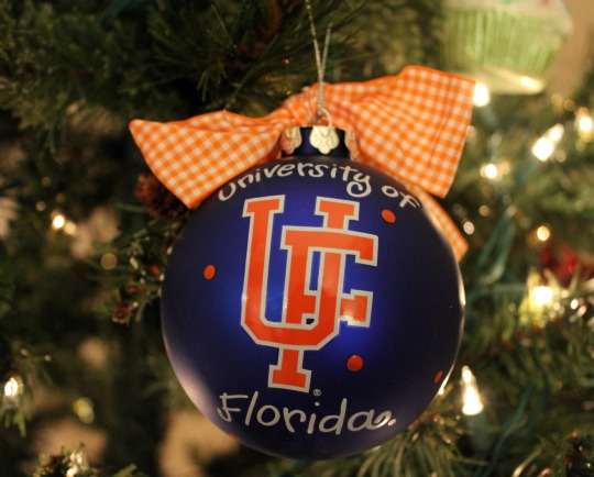 university of florida ornament