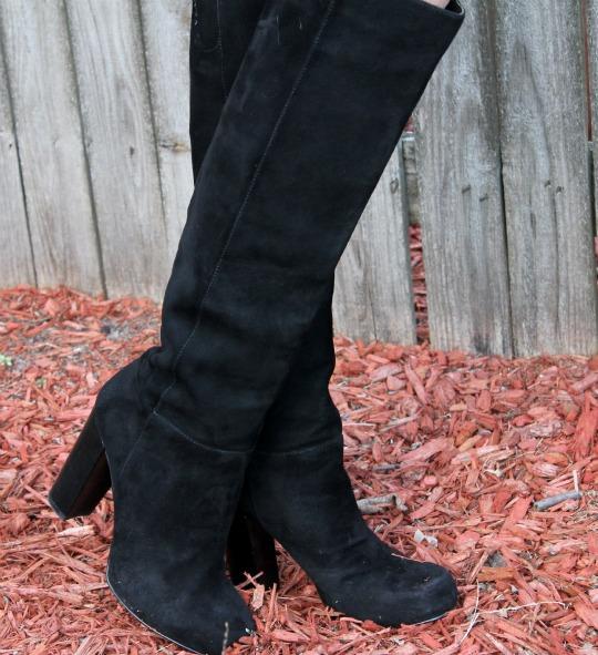 nine west camelot boots