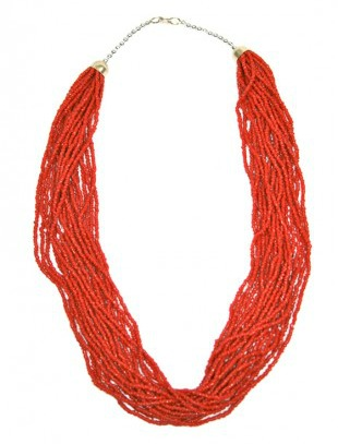 shop frankies beaded strand necklace