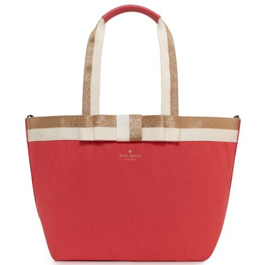 kate spade barrow street anabel baby bag