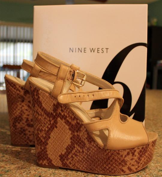 nine west boushie wedges