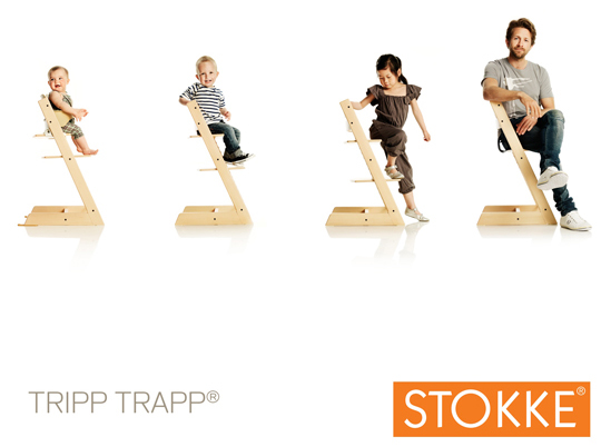 Stokke Has Generously Offered Up One Of Their Classic Tripp Trapp®  Highchairs ...