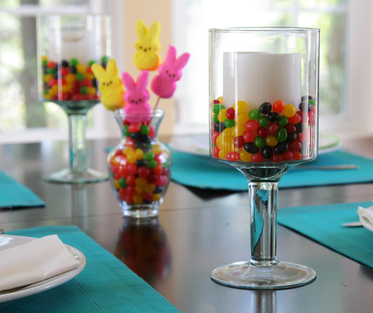 Easy Easter Table Setting : easter table setting ideas - pezcame.com