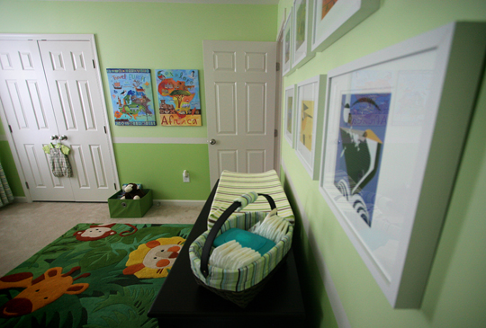 Jake's Nursery Reveal