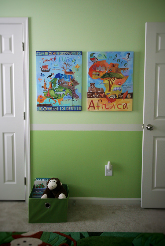 Jake's Nursery Reveal