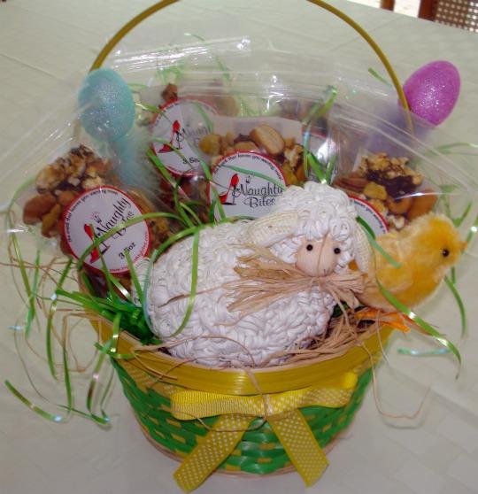 naughty bites gift basket