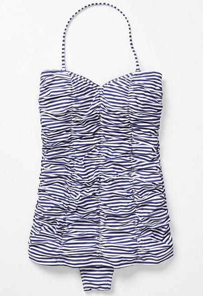 tidal stripes maillot