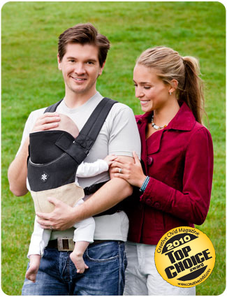 organic sand belle baby carrier