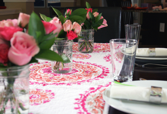 Sweet n' Girly Tablescape