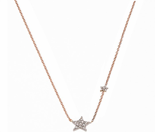 heather david jewelry simple stars diamond pendant